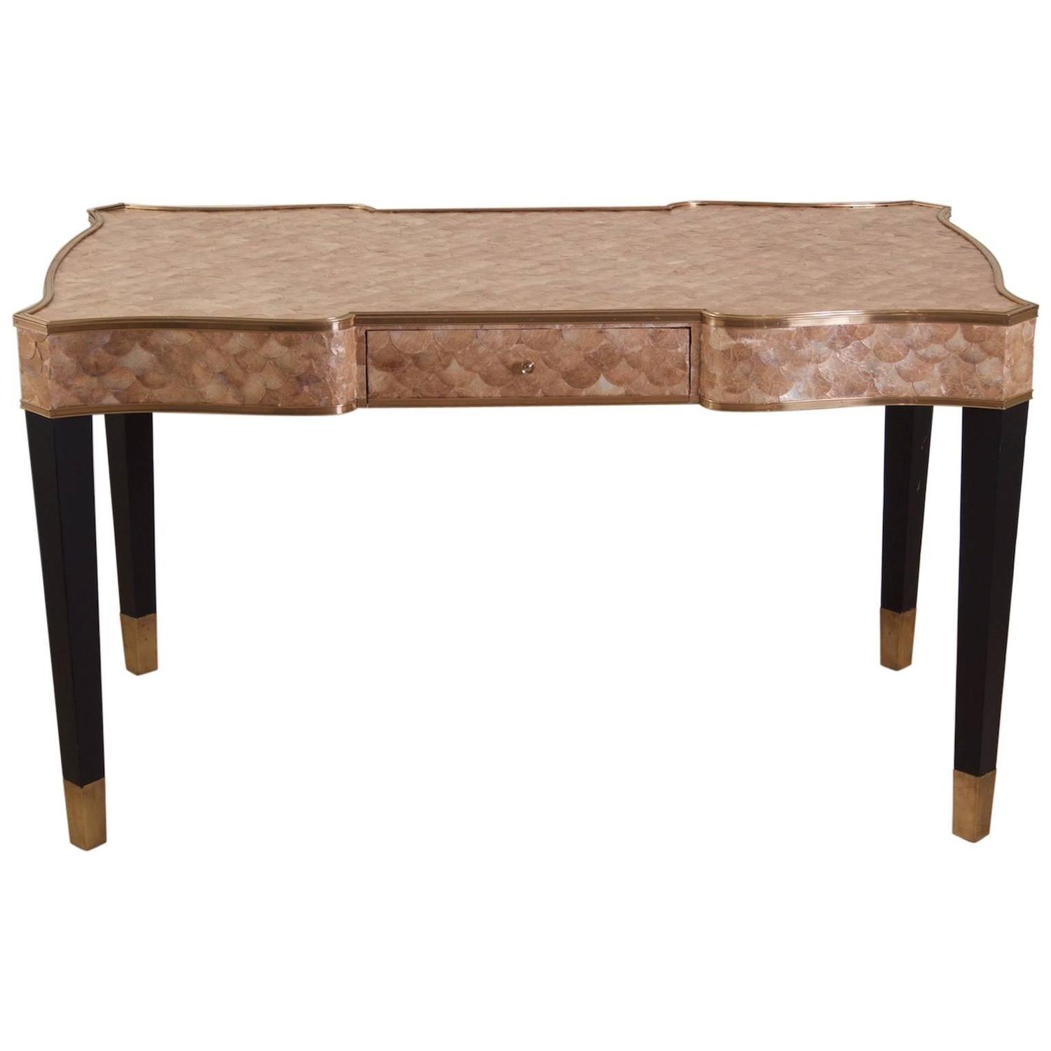 Henredon Shell Top Desk For Sale At 1stdibs