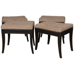 Four Swedish stools