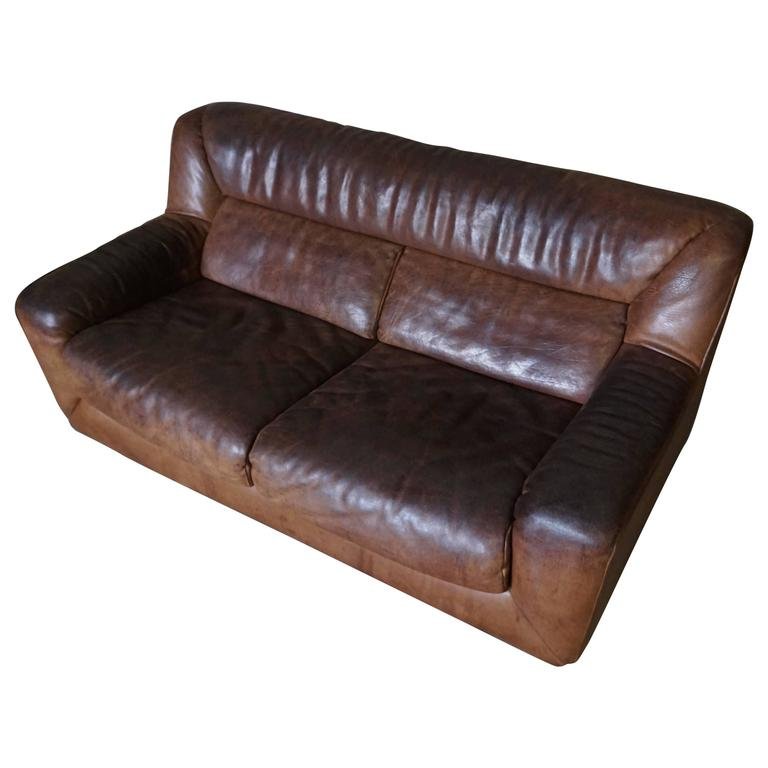 Good Two Seater Buffalo Hide Sofa By De Sede For Sale