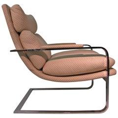Pair Of Mid Century Modern Milo Baughman Lounge Chair