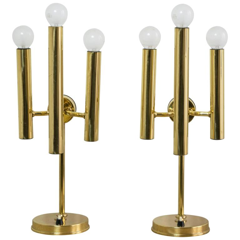 Modern Wall Sconces Italian : Mid-Century Modern Italian Table Lamps at 1stdibs