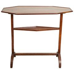 Directoire Mahogany Trestle Table, Early 19th Century