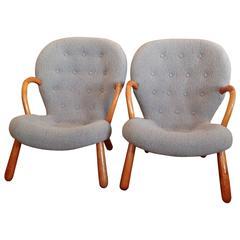 """Philip Arctander's """"Clam chair"""""""