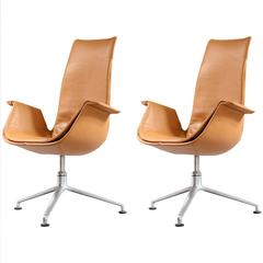 Pair of FK 6725 Tulip Chairs by Preben Fabricius & Jorgen Kastholm