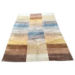 Vintage Room Size Carpet, Concepts International Color Block Rug