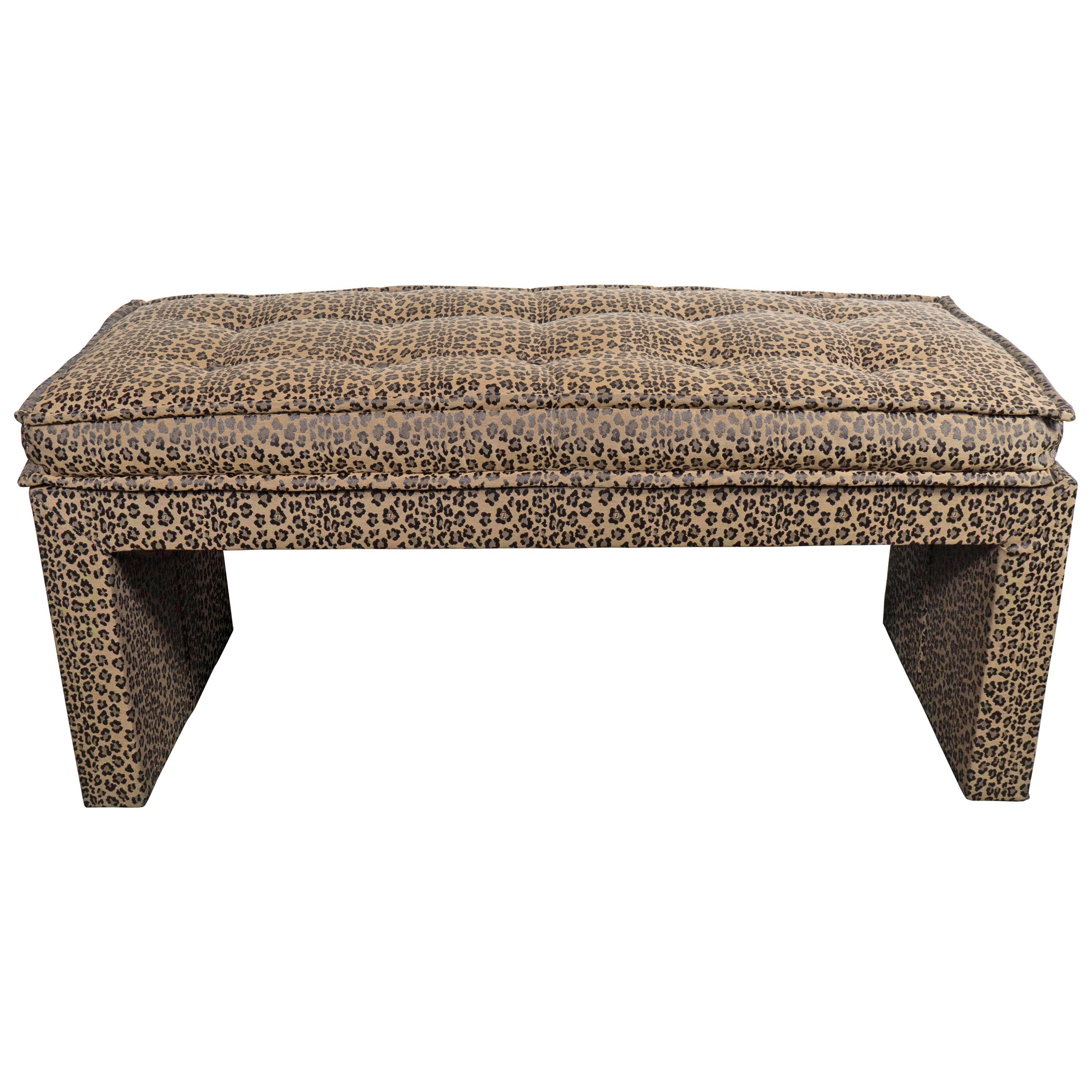 liked interior view bench leopard for furniture tables coffee table intended nurani ottoman the best print well