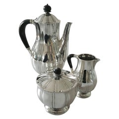 Georg Jensen Sterling Silver Coffee Set no 353