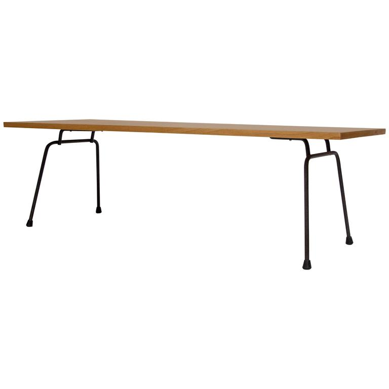 Clifford Pascoe Iron And Birch Coffee Table 1950s At 1stdibs