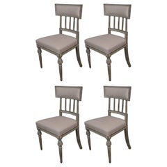 Four Gustavian Chairs