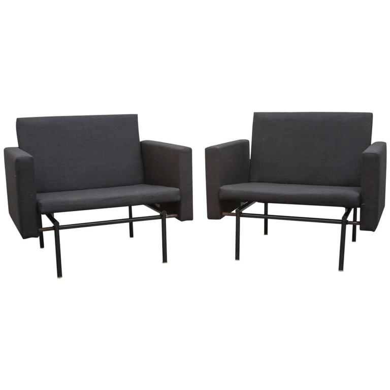 Fantastic Rare Pair Of Convertible Lounge To Sleeper Chairs Beatyapartments Chair Design Images Beatyapartmentscom