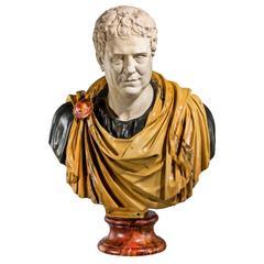 Bust of a Roman Popularis Politician Tiberius Gracchus