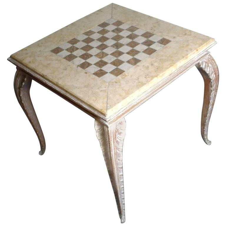 Game Table by Jansen, circa 1940