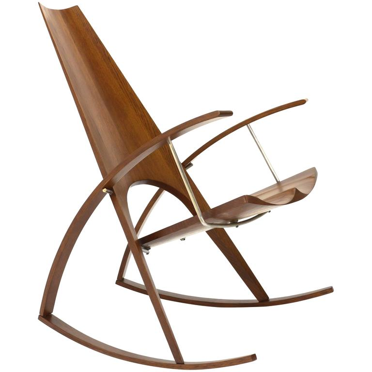Studio Craft Rocking Chair by Leon Meyer