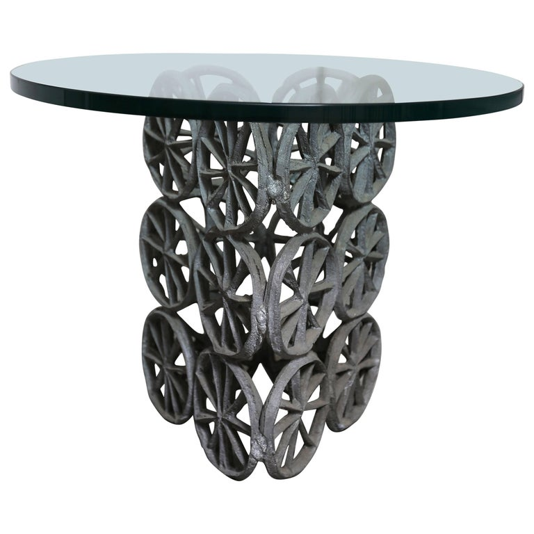 Side Table by Donald Drumm For Sale