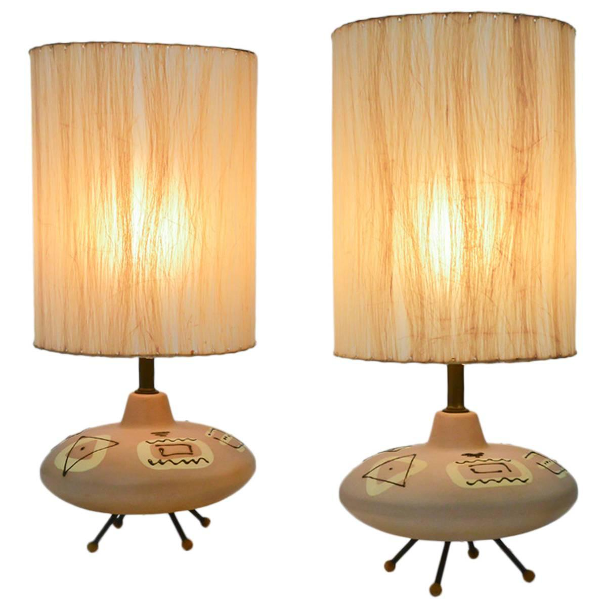 Unique lamps for sale - Unique Lamps For Sale Unique Pair Of 1950s Ceramic Table Lamps For Sale At 1stdibs