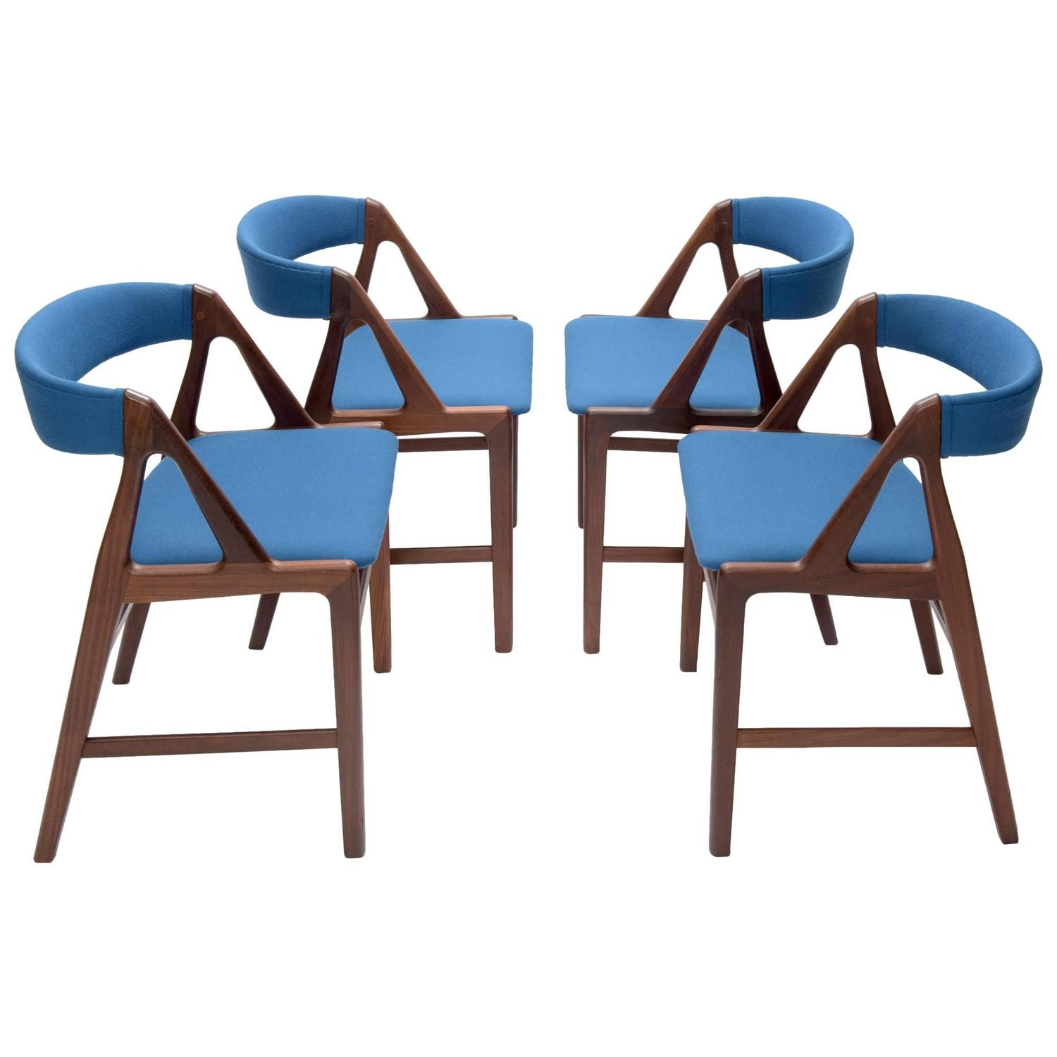 Henning Kj Rnulf Teak Chairs Danish Mid Century Modern Design 1960s At 1stdibs
