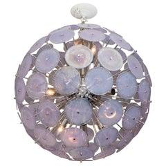 Murano Iridescent Disc Sputnik