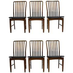 Svend A. Madsen Danish Modern Walnut Dining Chairs