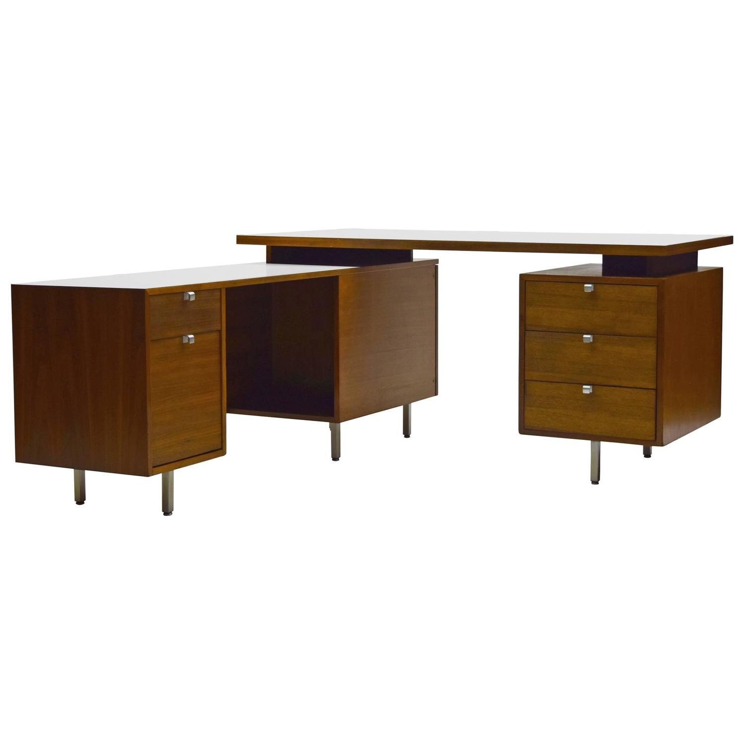 Premier Custom George Nelson Executive Floating Desk By