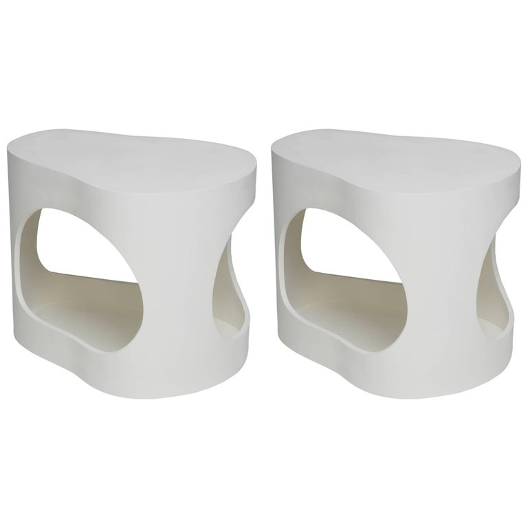 Pair of Cloud Side Tables by Jacques Jarrige, 2015 For Sale