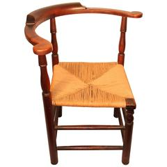 18th Century New England Roundabout Chair