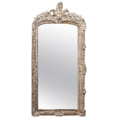 Beautiful Wood Carved 19th Century Mirror