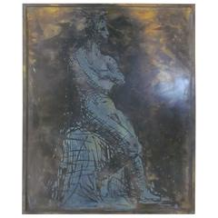 Philip Laverne Bronze Wall Plaque