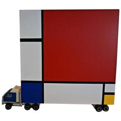 """Homage to Mondrian"" by Bruce Houston"