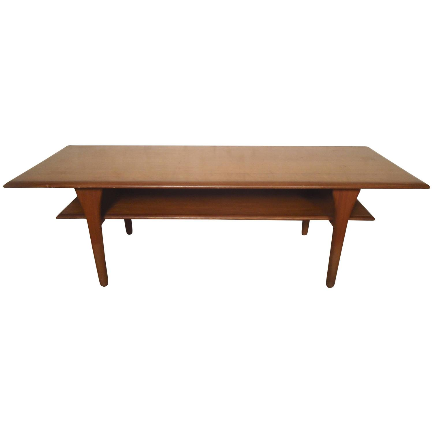 Danish modern coffee table for sale at 1stdibs for Modern coffee table sale