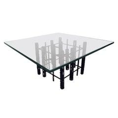 Mid-Century Modern Brutalist Coffee Table