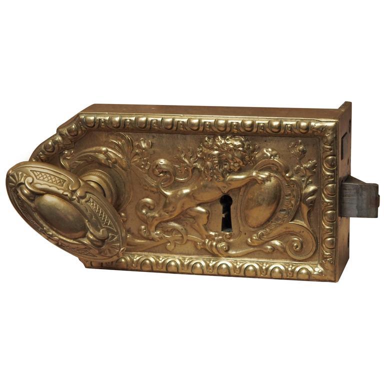 18th Century Door Lock At 1stdibs