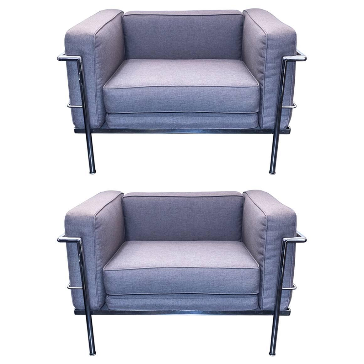 Le Corbusier Style Lc3 Chairs For Sale At 1stdibs