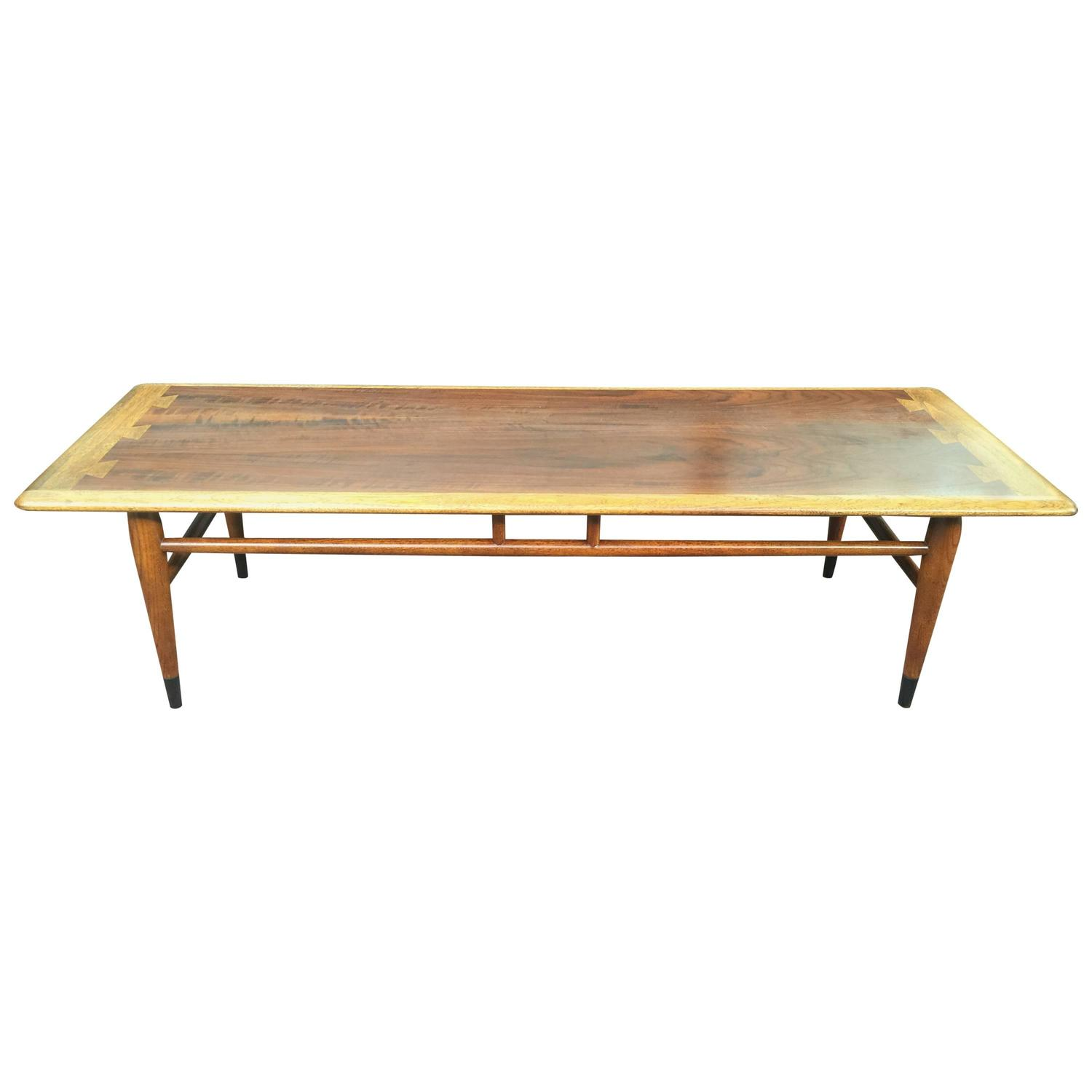 """Lane Switchblade Coffee Table: Lane """"Dovetail"""" Inlaid Coffee Table For Sale At 1stdibs"""