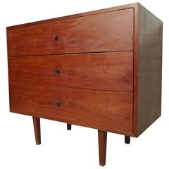Midcentury Three-Drawer Dresser