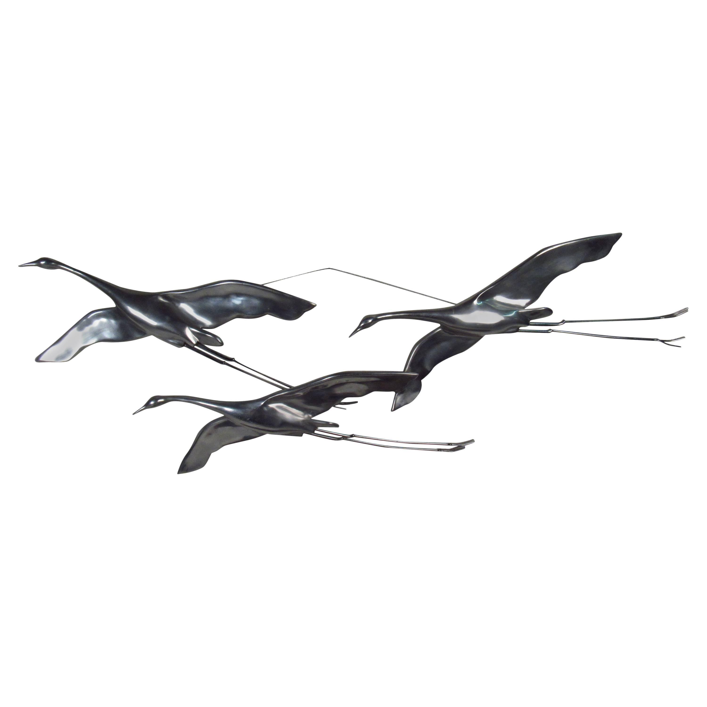 Curtis Jere Birds in Flight Wall Art, Signed circa 1979