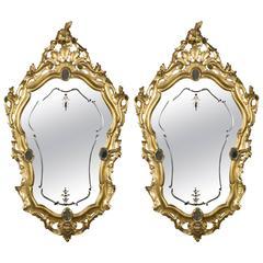 Pair of 19th Century Venetians Mirrors