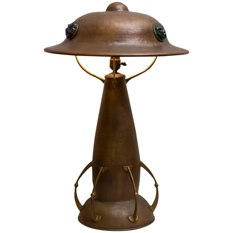 arts crafts hammered copper table lamp is no longer available. Black Bedroom Furniture Sets. Home Design Ideas