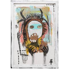 "Emilio Martinez ""I am not a Vandal"" Painting"