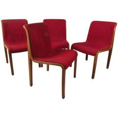 Set of Midcentury Side Chairs by Bill Stephens for Knoll