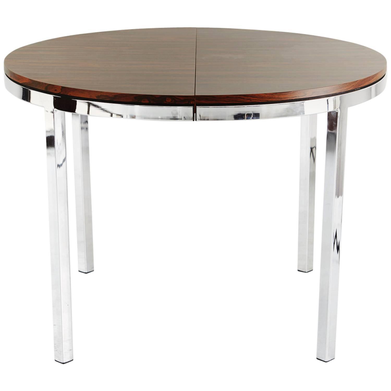 rosewood veneer expanding dining table at 1stdibs expanding dining room table best dining room furniture