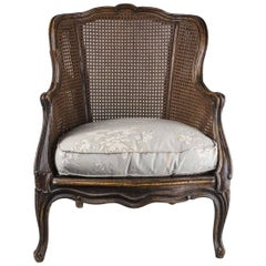 Caned Bergere in the Louis XV Taste