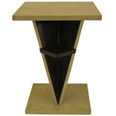 French Art Deco End Table, Attributed to Jean Dunand
