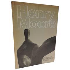 Henry Moore Signed 1st Ed.1971 Catalog, Staatsgalerie Moderner Kunst Munchen