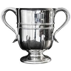 Antique English Silver Two-Handled Cup