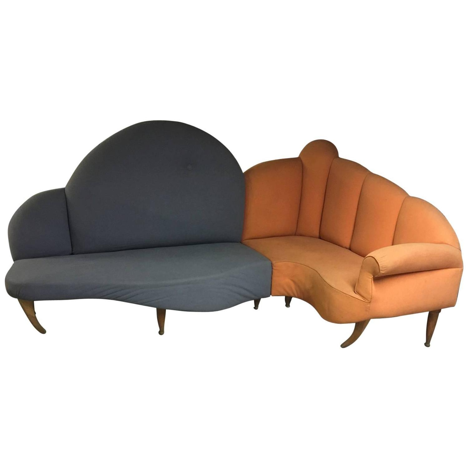 unique italien sofa for sale at 1stdibs. Black Bedroom Furniture Sets. Home Design Ideas
