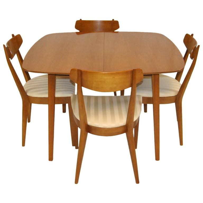 mid century modern dining set by kipp stewart for drexel sun coast