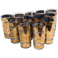16 Vintage Drinks Glasses