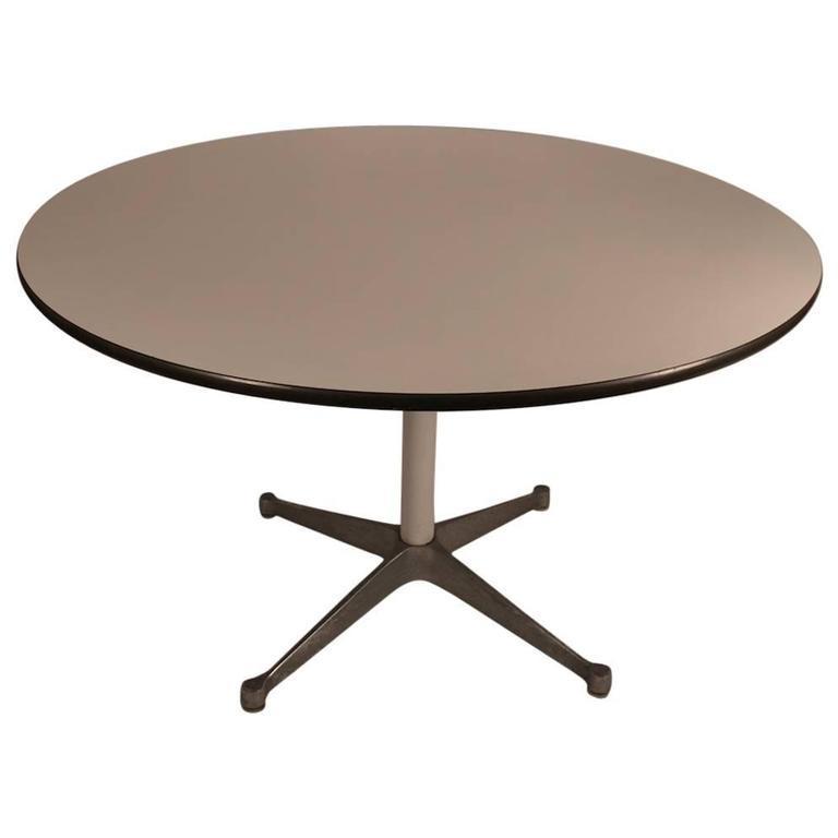 Eames laminate top herman miller dining table at 1stdibs - Herman miller eames table ...