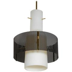 Italian 1950s Pendant Light Attributed to Stilnovo