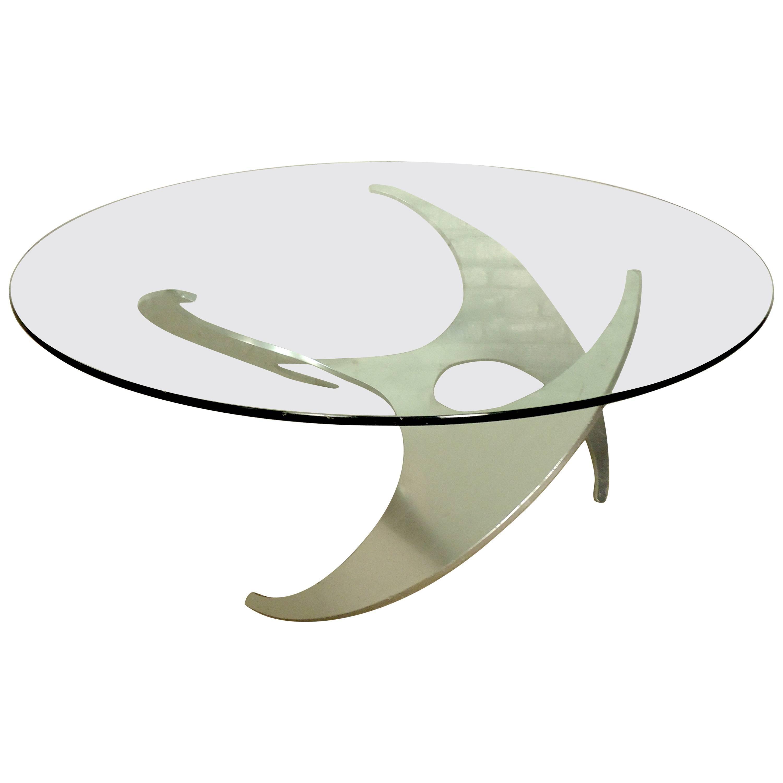 Midcentury Propeller Table by Knut Hesterberg